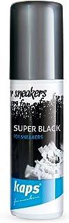 Tinte Restaurador Color Negro para Zapatillas de Deporte y Calzado Informal, Cuero y Textil, Super Black, 75 ml