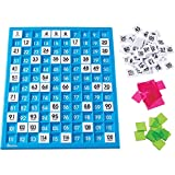 Learning Resources 120 Number Board, Tray & Numbered Tiles, Common Core Math, 181 Piece, Ages 6+