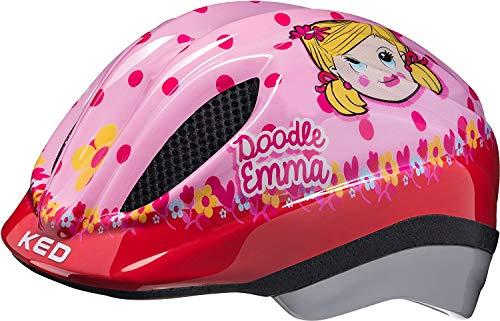 KED Meggy Meggy Kids Casco da Bici per Bambini Neonato Doodle Emma, Taglia:M | 52-58cm