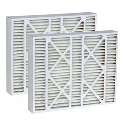 Price comparison product image Tier1 20x25x5 Merv 8 Replacement for Bryant FILBBCAR0020 Air Filter 2 Pack
