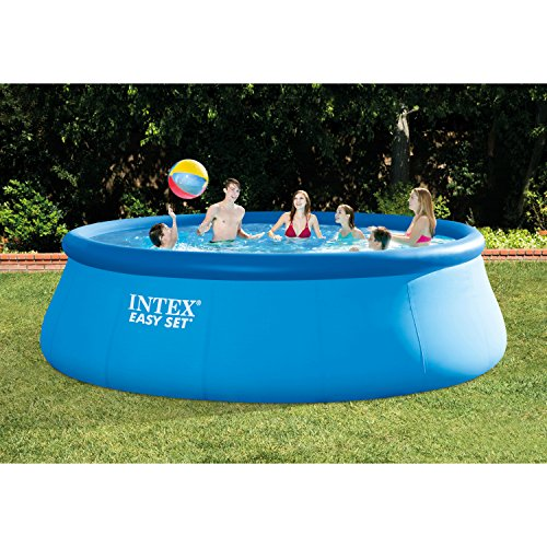 Best Intex Pool Reviews - Intex Easy Pool Set 15 feet x 48 inches with Accessories