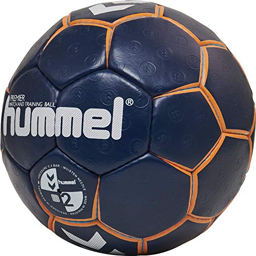 hummel HMLPREMIER-Handball Sport, Blau/orange/türkis, 2