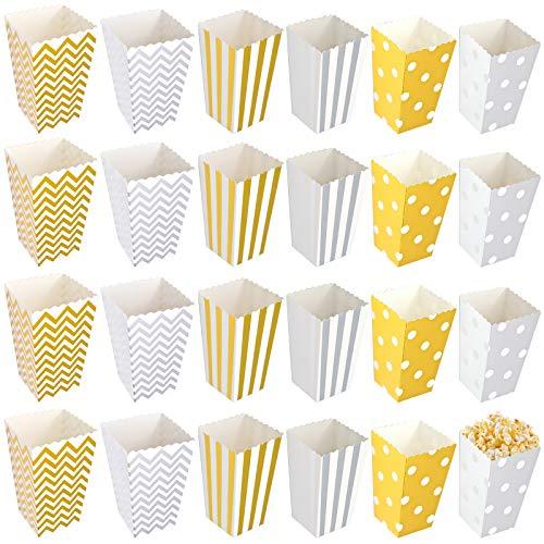Scatole per Popcorn, Vari Stili Si Aggiungono All'atmosfera della Festa a Tema del Film (30 pezzi)
