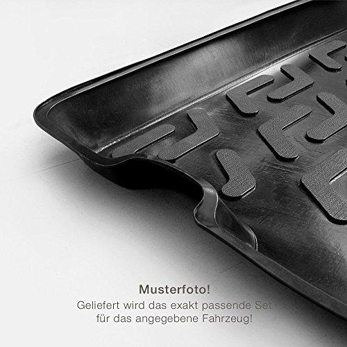 Autoteppich Stylers ATS Gummimatten Kofferraumwanne (Set) passgenau für ATS_Koffer_Set_100627
