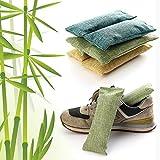 Nobrand Schuh-Deodorant, 2 Stück, Bambuskohle, Luftreinigungsbeutel, geruchsneutralisierend,...