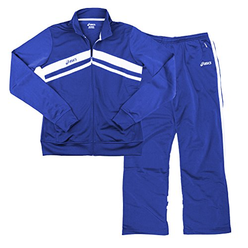 ASICS Women's Cabrillo Pants and Jacket Set Royal Blue