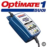Optimate 1 Duo 12V Lithium and Lead Acid Motorcycle Automatic Battery Charger Maintainer