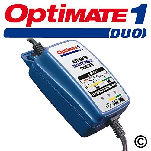 Optimate1 TM404D : Mainteneur batterie moto lithium et plomb 12V/0,6A