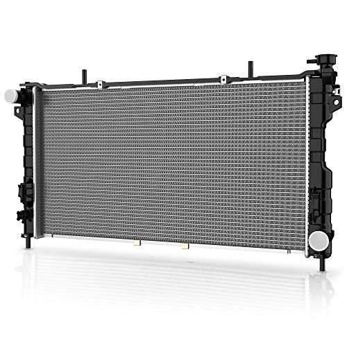 Complete Radiator for 2001-2004 Chrysler Town Country Plymouth Voyager, for 2001-2004 Dodge Caravan Grand Caravan 3.3L 3.8L 6 Cyl DWRD1011