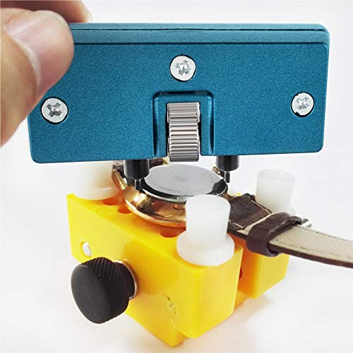 Vastar Watch Adjustable Opener Back Case Press Closer Remover Repair Watchmaker Tool and Watch Case Back Opener Repair Remover Holder Tool