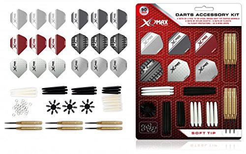 XQ Max Freccette Dart Accessory Kit, Multicolore, 18Gram