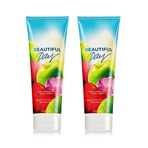 Bath & Body Works Beautiful Day Triple Moisture Body Cream 8 Oz (2-pack) by Bath & Body Works