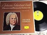 Johann Sebastian Bach ~ 6 Sonatas and Partitas for Solo Violin ~ Henryk Szeryng ~ DGG BMV 1001-1006 ~ vinyl box set