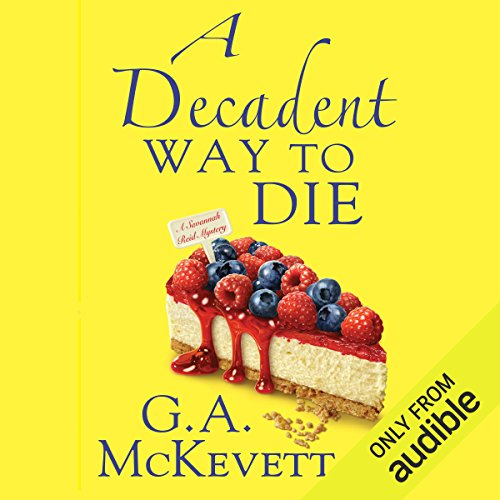A Decadent Way to Die audiobook cover art