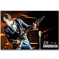 Dubdubd ジョーボナマッサロックミュージックシンガーアートポスターキャンバス絵画写真リビングルーム室内装飾ギフト-60X90Cmフレームなし1個