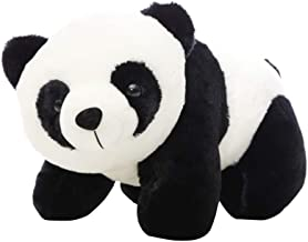 Amosfun Plush Panda Toy Stuffed Panda Animal Doll Soft Animal Hug Pillow Toy for Girls Kids Children