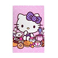 BelleE Hello Kitty ハローキティ パズル 1000ピース 木製パズル 人気アニメ 遊び 雰囲気 減圧 大人用 7歳以上子供用 木製 チャレンジングファミリーゲーム