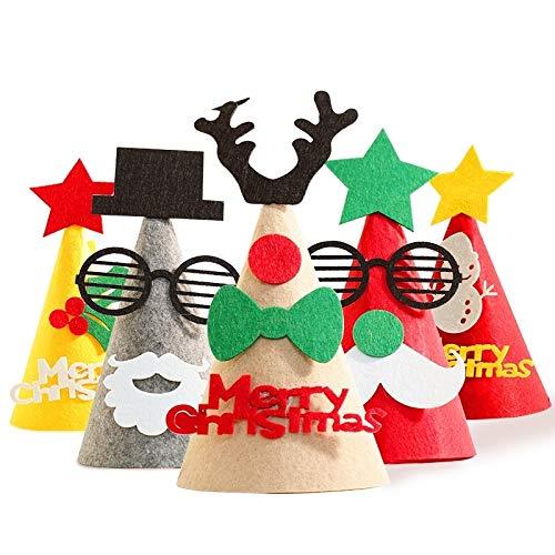 Navidad Sombrero Estereofónico Nin, Decoración Árbol De Navidad Lindo De Ordenación Ambiente Adornos lanlan dai