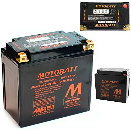 Motobatt - Mbyz16h motocicleta recargable