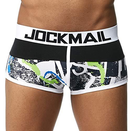 Heren ondergoed mannen elastische boxershorts persoonlijkheid Prachtig print shorts Pouch zachte onderbroek Vrouw
