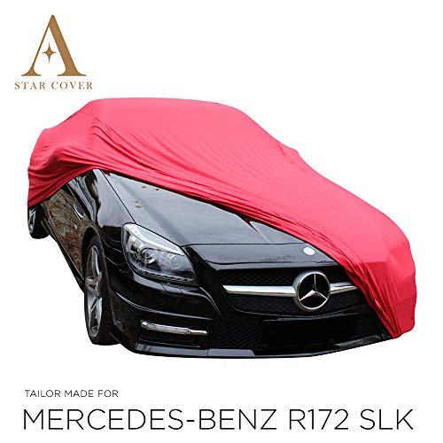 AUTOABDECKUNG ROT Mercedes-Benz SLK-Class (R172) SCHUTZHÜLLE ABDECKPLANE