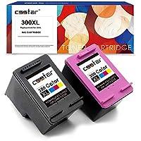 CSSTAR Remanufacturado Cartuchos Tinta Reemplazo para HP 300 300XL para DeskJet D2660 D5560 F2480 F4280 F4580 Envy 110 114 120 PhotoSmart C4680 C4780 C4670 C4600 C4700 Impresora, Negro y Color