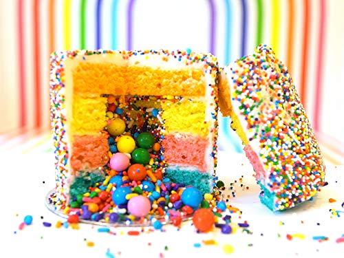 Mini-Explosion Cakes