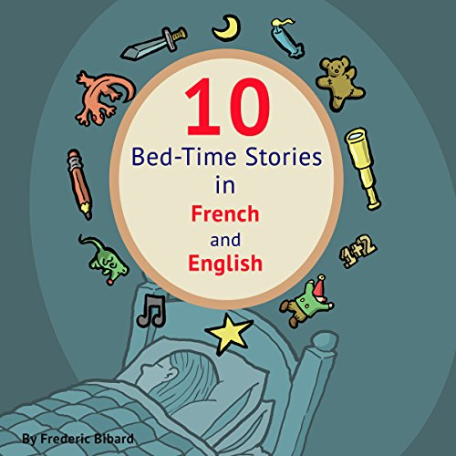 Couverture de 10 Bed-Time Stories in French and English