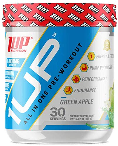 1Up for Men Pre-Workout, Dragon Mojito - 450g