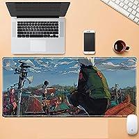 ゲーミングマウスパッド 大型マウスパッド アニメマウスパッド デスクトップマウスパッド 滑り止め&防水 1000×500×3mm アニメ ナルト-A_1200X600mm