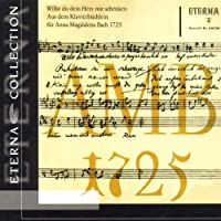Piano Book for Anna Magdalena Bach by Bach (2005-10-01)