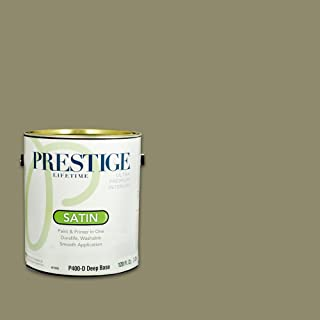 Prestige, Greens and Aquas 9 of 9, Interior Paint and Primer In One, 1-Gallon, Satin, Mountain Sage