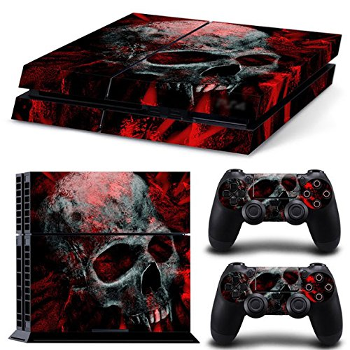 Gam3Gear Vinyl Sticker Pattern Decals Skin for PS4 Console & Controller (NOT for PS4 Slim or PS4 Pro)