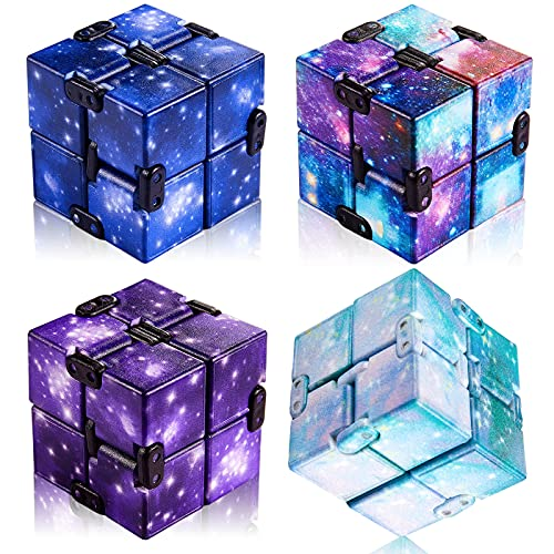 Infinity Cube Toy Anxiety Relief Fidget Toy...