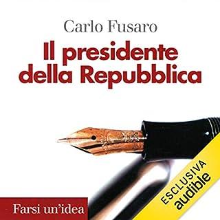 Il presidente della Repubblica copertina