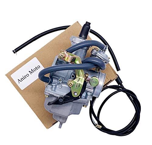 Auto-Moto Carburetor with Throttle Cable for HONDA Recon 250 TRX250 TRX250TM TRX250TE (Fits: 2000 Honda Recon 250)