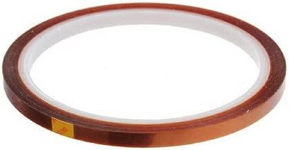 CHINAJIAODAI Ruban adh/ésif double face Ruban adh/ésif en polyimide r/ésistant /à la chaleur 2 rouleaux 2 cm x 33 m kapton ruban adh/ésif double face