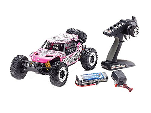 Kyosho AXXE Electric Desert/Off-Road RC Buggy (1:10 Scale), Pink