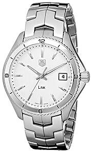 TAG Heuer Men's WAT1111.BA0950 Link Silver Dial Watch image