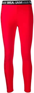 MIA-IAM Luxury Fashion Womens PNT01ROSSO Red Leggings | Fall Winter 19