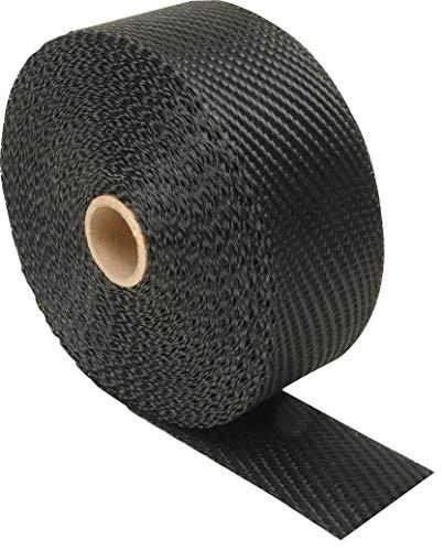 Design Engineering 010004 Black Titanium 2 x 25 Exhaust Heat Wrap with LR Technology