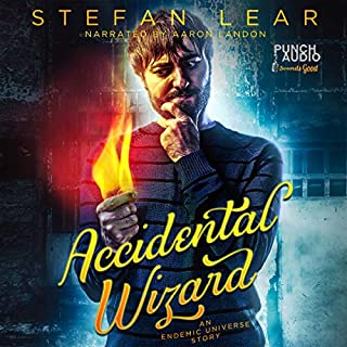 Accidental Wizard audiobook cover art