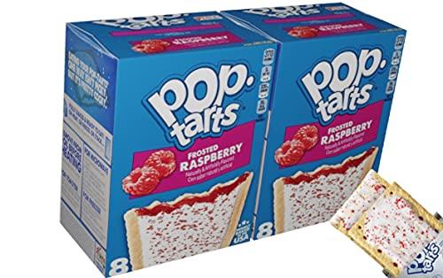Kelloggs Poptarts frosted Raspberry 2x8 Stück