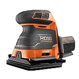 Ridgid 18-Volt OCTANE Cordless Brushless 3-Speed 1/4 Sheet Sander - Bare Tool, R86064B, (Bulk Packaged, Non-Retail Packaging)