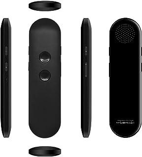 riconoscimento vocale Mouse vocale AMONIDA Penna di traduzione Design ergonomico per riunioni di Lavoro Apprendimento delle Lingue straniere Supporto Win7 // 8//10 Travel Black