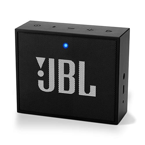 JBL GO+ Portable Bluetooth Speaker - Grab and Go Wireless Boom Box with Built-in Strap-Hook - Black