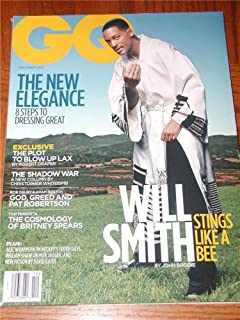 GQ Men's Magazine Back Issue December 2001 Will Smith Cover Taye Diggs Gap AD