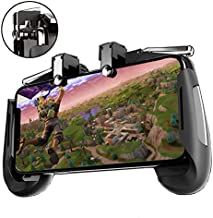 Agoz Mobile Game Controller Shoot Aim Trigger Shooter Grip Gamepad for Apple iPhone 11 Pro XS Max, XR, X,8 Plus,7,Samsung Galaxy S10 5G,S10 Plus,S10e,Note 10 9 8,S9,S8,Google Pixel 3A,OnePlus 6T 7 PRO