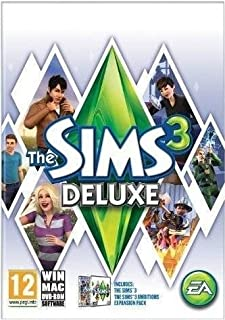 The Sims 3 Deluxe (Includes The Sims 3 & Ambitions Expansion Pack) PC & Mac