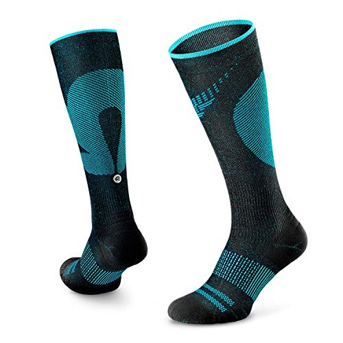 of compression socks dec 2021 theres one clear winner Rockay Vigor Graduated Compression Socks for Men and Women - 16-23 mmHg (1 Pair)
